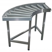 90 Degree Roller Entry/exit Table