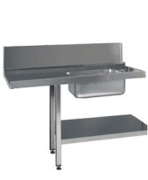 Prewash Table with Undershelf