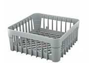 Cup rack - grey plastic