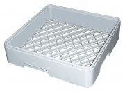 Cup rack - grey plastic 450x450mm