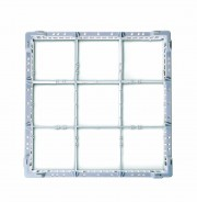Glass Basket - 9 compartment