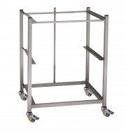 Mobile Racking Bay - Stainless Steel