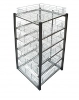 Bespoke Racking Bay - Stainless Steel