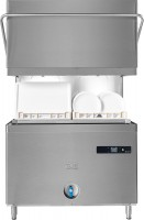 Double-hood Passthrough Dishwasher